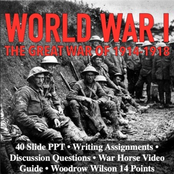 WWI World War I Bundle