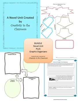 BUNDLE: Walk Two Moons Novel Unit Plus Grammar AND Graphic
