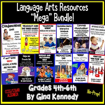 4th and 5th Grade Language Arts Resources for the Entire Y