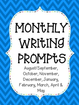 {BUNDLED} Monthly Writing Prompts