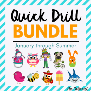 BUNDLED Quick Drills for January through Summe