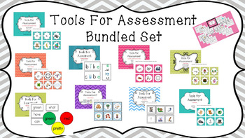BUNDLED SET!! Literacy Tools For Assessment - HUGE SET! GR
