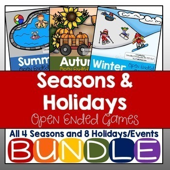 BUNDLED Seasons & Holidays: Open-Ended Games