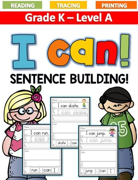 ***BUNDLE!***Sentence Building Level A