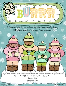 BURRR: A Game to Build Sight Word or Letter or Letter Soun