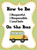 BUS Rules/Expectations Social Story: SWPBS/PBIS (responsib
