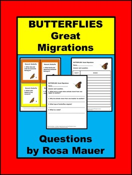 BUTTERFLIES Great Migrations  and Monarchs Nature's Children