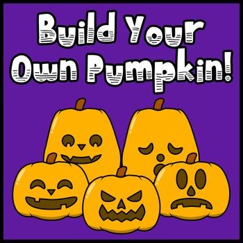 BYOP (Build Your Own Pumpkin - Halloween Jack-o'-Lantern C