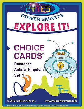 BYTES Power Smarts®:  EXPLORE IT! CHOICE CARDS®-RESEARCH-A