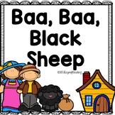 Baa, Baa, Black Sheep Nursery Rhyme Activities