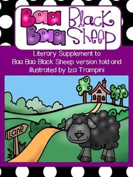 Baa Baa Black Sheep Nursery Rhyme Differentiated Literacy Unit