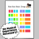 Baa Baa Black Sheep Color-Coded Piano Song Sheet ~ Play by Color