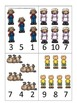 Baa Baa Black Sheep themed Math Numbers Clip it Cards pres