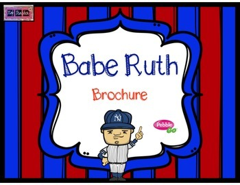 Babe Ruth Brochure