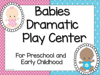 Babies Dramatic Play Center