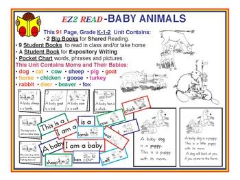 EZ2READ BABY ANIMALS