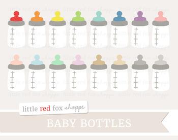 Baby Bottle Clipart; Children, Parenting