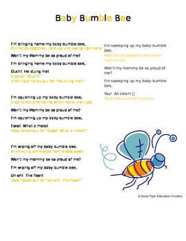 Baby Bumble Bee Song