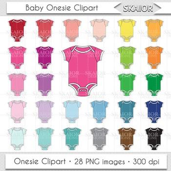 Baby Clothes Clipart Onesie Clipart Rainbow Nursery Baby S
