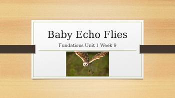 Fundations Kindergarten - Baby Echo Flies