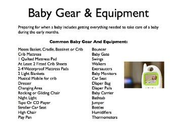 Baby Gear PowerPoint
