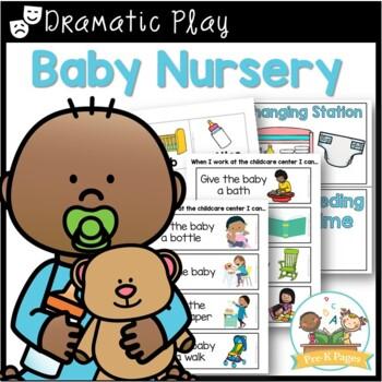 Baby Nursery Dramatic Play