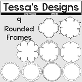 Baby, Right Round- 9 Rounded Frames