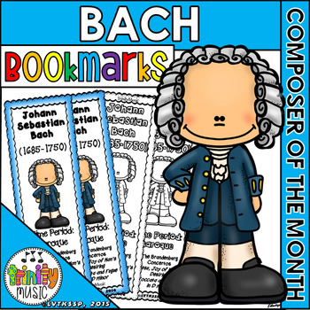 Bach Bookmarks (Composer of the Month)