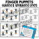 Bach Finger Puppets (Composer of the Month)