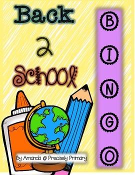 Back 2 School BINGO