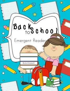 {*}Back 2 School: Emergent Reader{*}