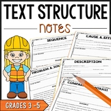 Text Structure Notes