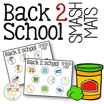 Back 2 School Smash Mats