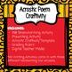 Back To School Acrostic Poem Craftivity!