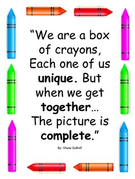 Back To School Activities For The Crayon Box That Talked