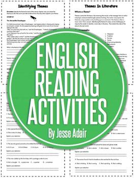 English Reading Activities