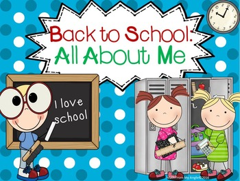 Back To School:  All About Me FREEBIE
