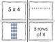 Back To School Arrays (A CCSS Aligned Matching Activity)