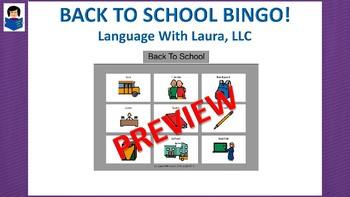 Back To School Bingo!