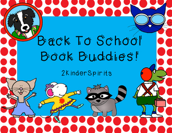 Back To School Book Buddies!