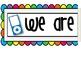 Back To School Bulletin Board Set ~MP3 Theme Set~  *EDITAB