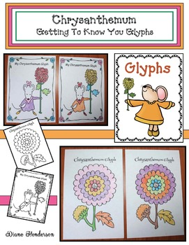 "Back To School ""Chrysanthemum-Themed"" Getting To Know You Glyphs"
