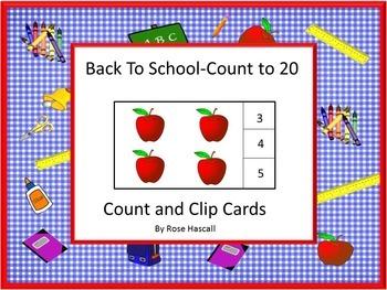 Back to School Activities Kindergarten Math Centers Statio