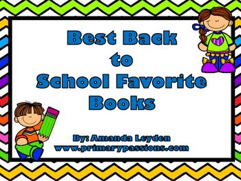 Back To School Favorite Books