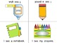 Back To School Foldable Early Emergent Readers ~Set of 3~