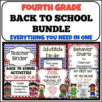 Back To School {Fourth Grade}