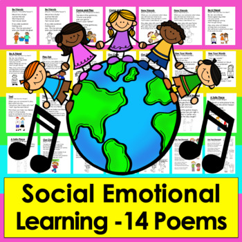 Bullying Prevention, Friendship,  Manners Bully Free Poems