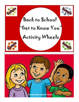 "Back To School ""Get To Know You Wheels"""