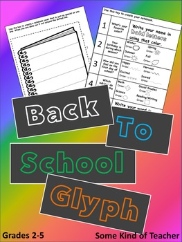 Back To School Glyph