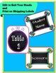 Back To School Labels- Chalkboard and Doodle Frames